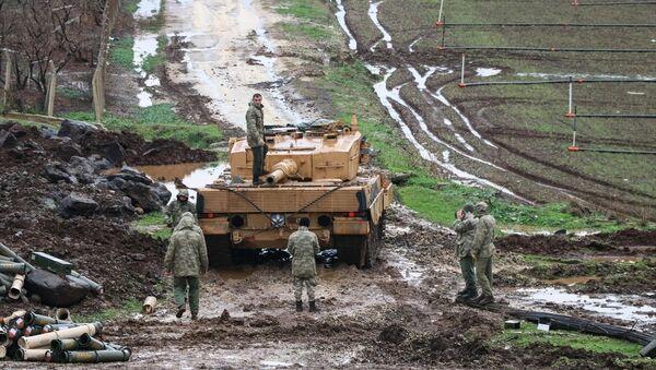 TSK'nın Afrin'e yönelik Zeytin Dalı Harekatı - Sputnik Türkiye