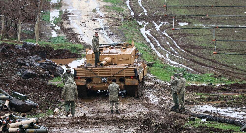 TSK'nın Afrin'e yönelik Zeytin Dalı Harekatı