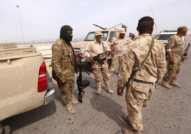Libya güvenlik güçleri