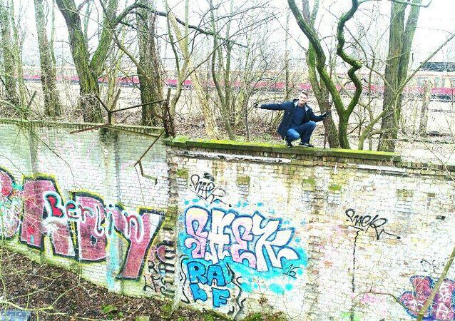 Berlin Duvarı'nın kayıp 80 metrelik parçası