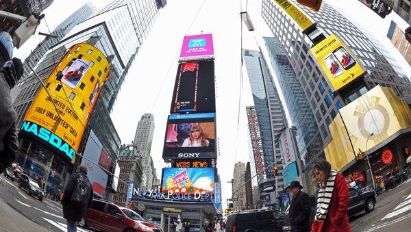 Times Meydanı- New York - Sputnik Türkiye