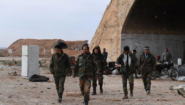 Suriye askerleri- İdlib - Sputnik Türkiye