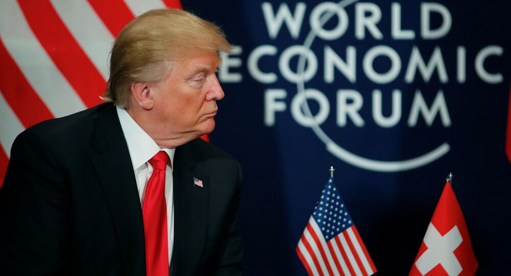 Donald Trump World Economic Forum (WEF) Davos 2018
