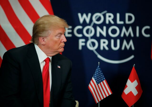 Donald Trump World Economic Forum (WEF) Davos 2018