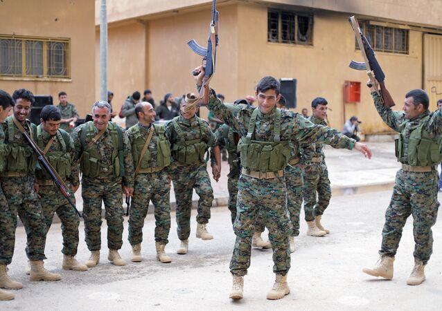 Haseke'deki Demokratik Suriye Güçleri