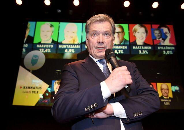 Finlandiya Cumhurbaşkanı Sauli Niinistö