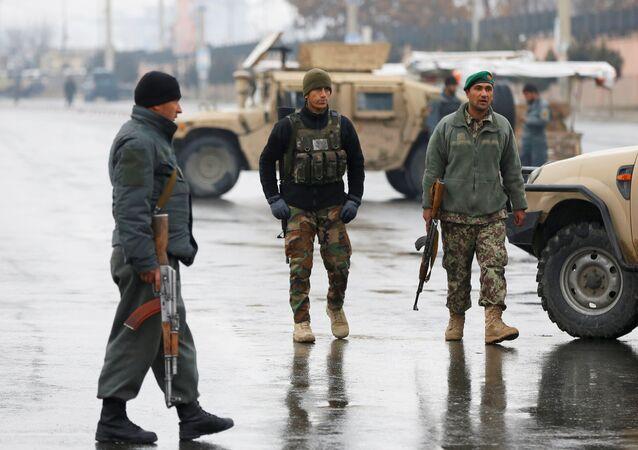 Afganistan güvenlik güçleri