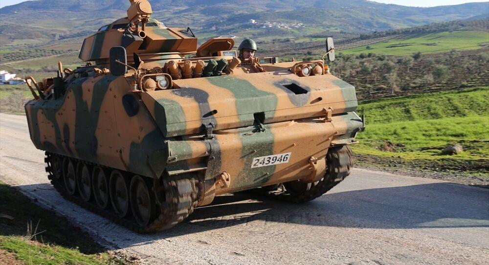 TSK, ÖSO, Afrin, Zeytin Dalı Harekatı