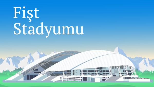 Fişt Stadyumu - Sputnik Türkiye