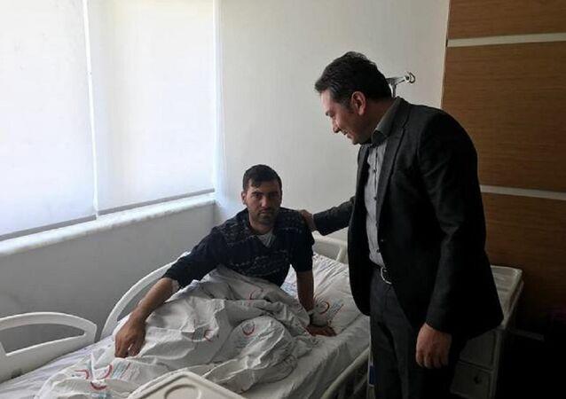 CHP'li Özel'in yakını Afrin'de yaralandı