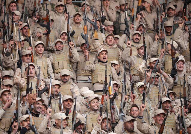Afrin'deki YPG'liler
