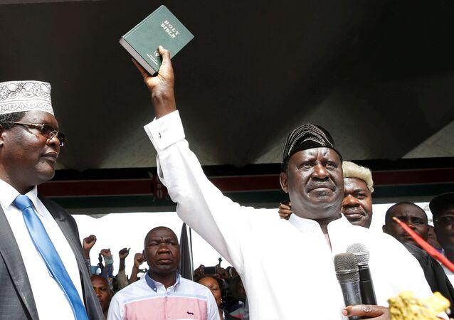 Kenya muhalefet lideri Raila Odinga