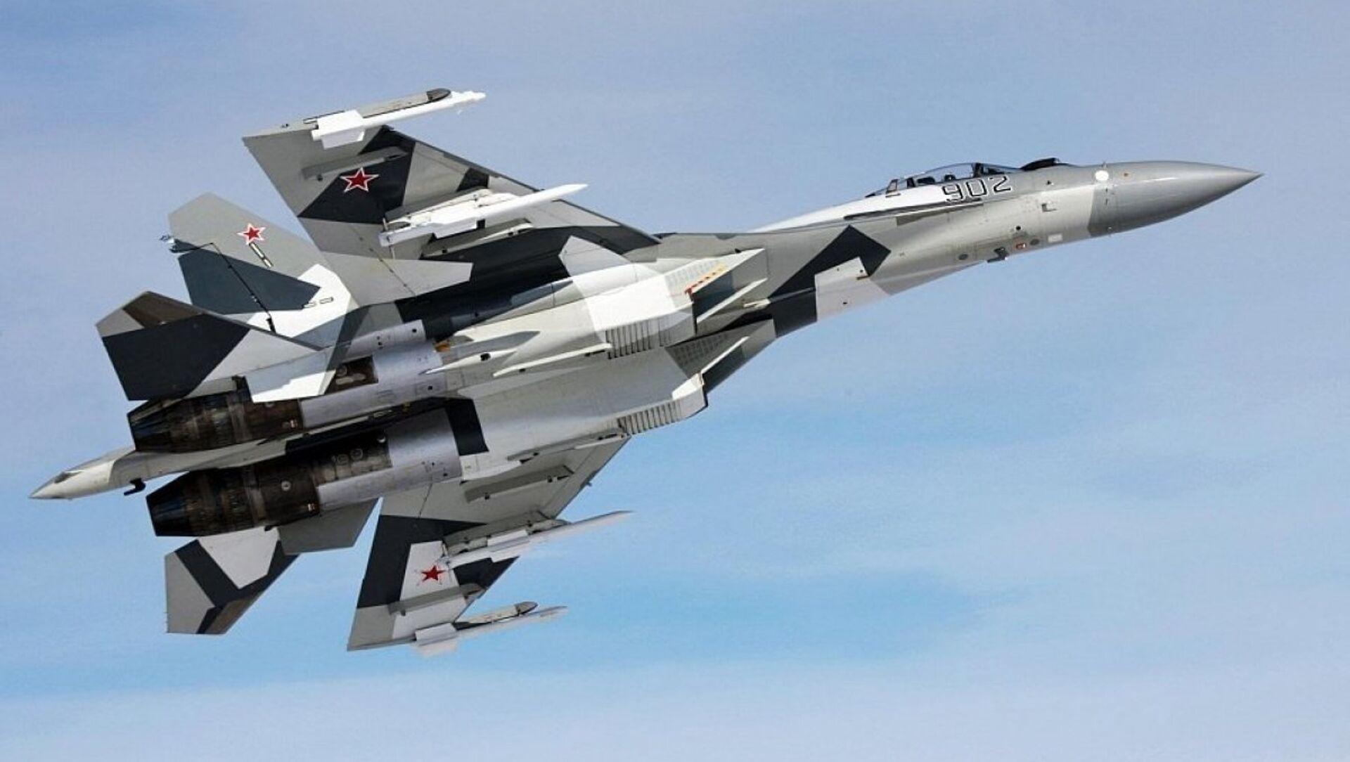 Rus Su-35 savaş uçağı - Sputnik Türkiye, 1920, 01.08.2021