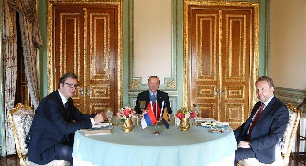 Recep Tayyip Erdoğan, Aleksandar Vucic, Bakir İzzetbegoviç