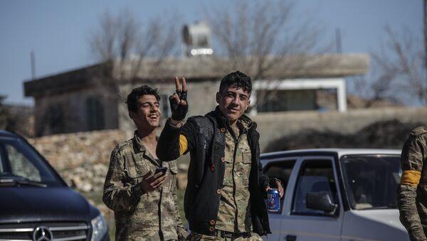 Özgür Suriye Ordusu (ÖSO), Afrin, Zeytin Dalı Harekatı - Sputnik Türkiye