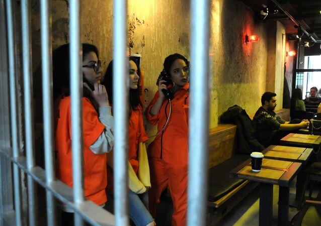 Yalova'da 'hapishane' konseptli kafe