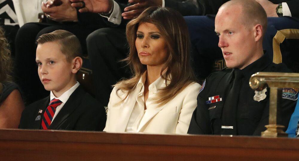 Donald Trump Kongre Birliğin Durumu konuşması Melania Trump