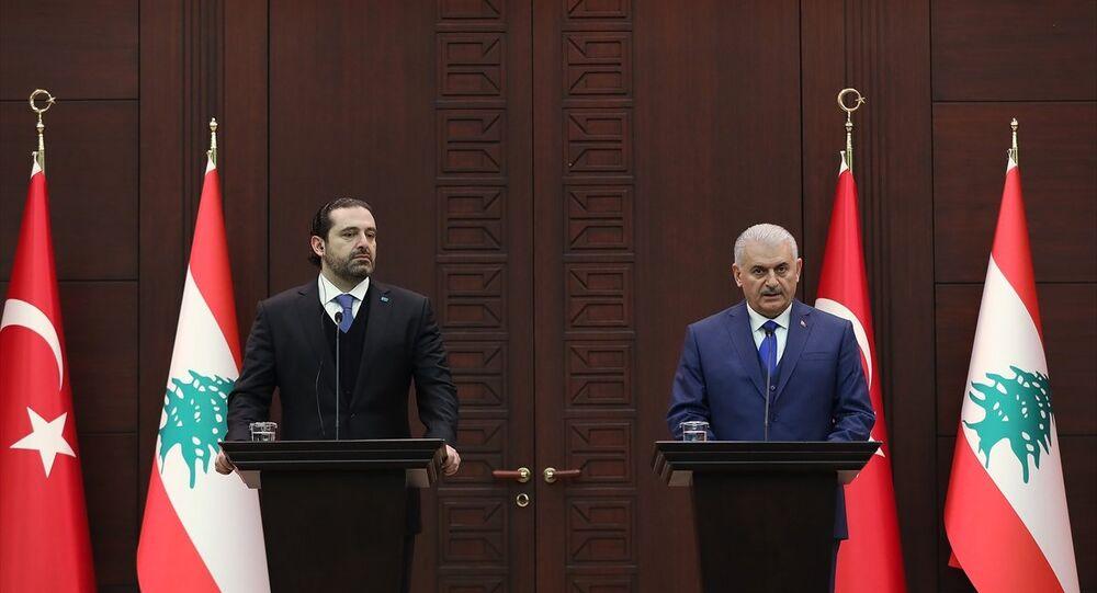 Başbakan Binali Yıldırım, Lübnan Başbakanı Saad Hariri ile Çankaya Köşkü'nde bir araya geldi. Başbakan Yıldırım ve Hariri, görüşme sonrası ortak basın toplantısı düzenledi.