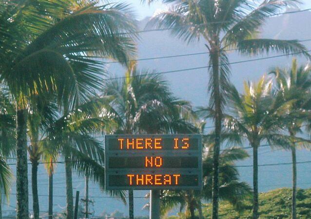 Hawaii'de hatalı balistik füze alarmı