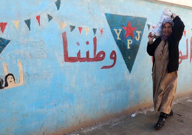Afrin'de bir sokak