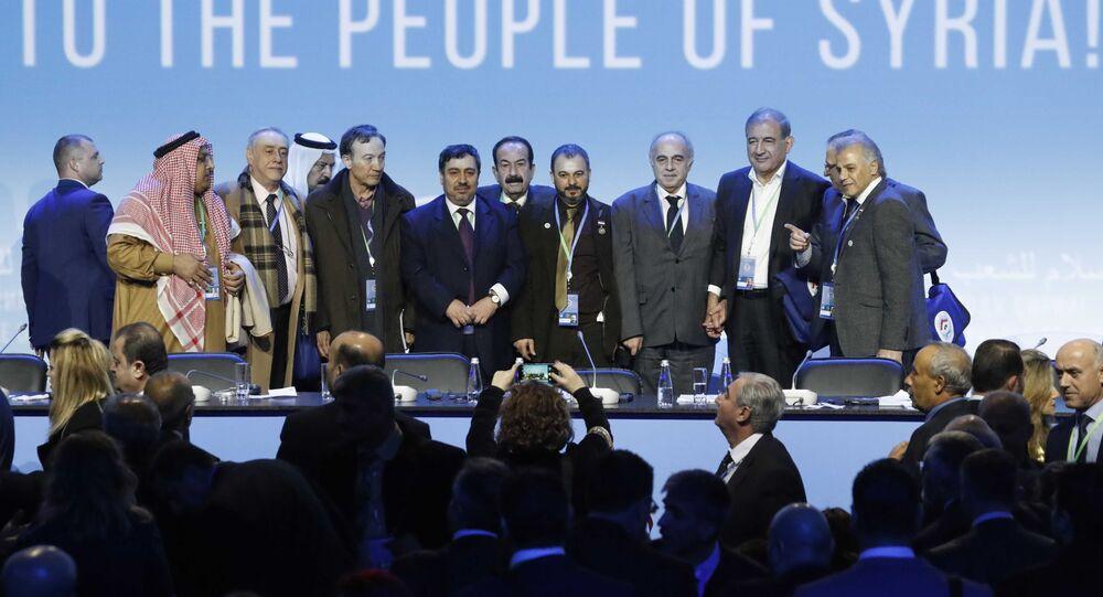 Soçi Suriye Ulusal Diyalog Kongresi