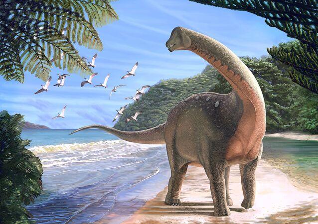 Afrika Mısır Sahra Çölü yeni dinozor türü Mansourasaurus shahinae