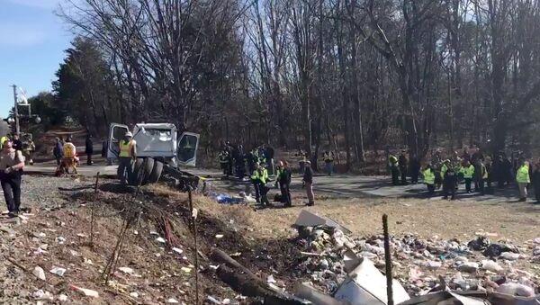ABD'li vekilleri taşıyan tren kaza yaptı - Sputnik Türkiye