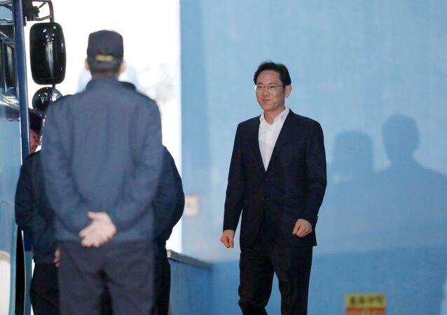 Samsung'un varisi Lee Jae-yong