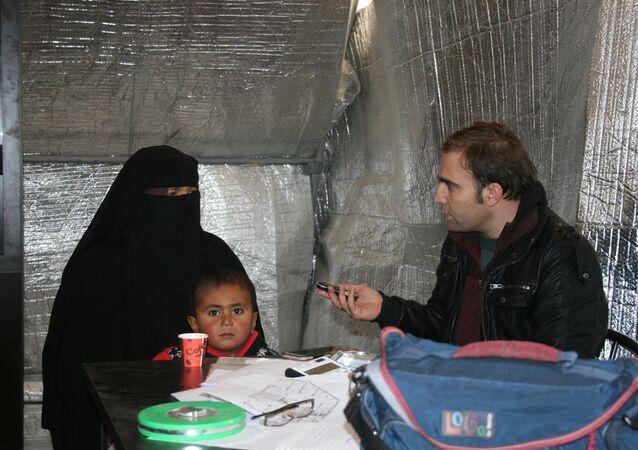 Suriye'de Azez'de kampta kalan Iraklı Türkmenler ülkelerine dönmek istiyor