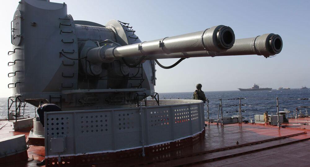 AK-130 donanma topu