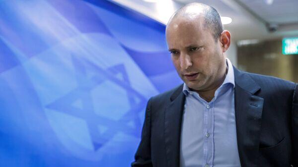 İsrail Eğitim Bakanı Naftali Bennett - Sputnik Türkiye