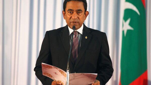 Maldivler Devlet Başkanı Abdulla Yamin Abdül Gayyum - Sputnik Türkiye