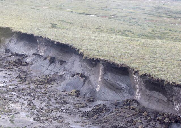 Sürekli donmuş toprak (Permafrost)- Kanada