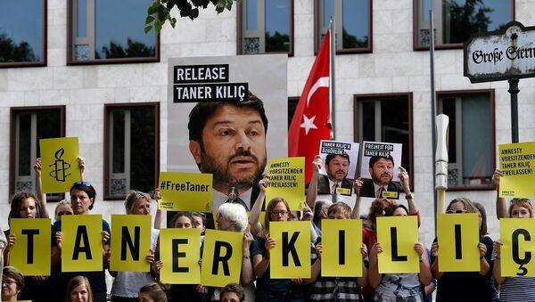 Af Örgütü Türkiye Şubesi Yönetim Kurulu Başkanı Taner Kılıç - Sputnik Türkiye