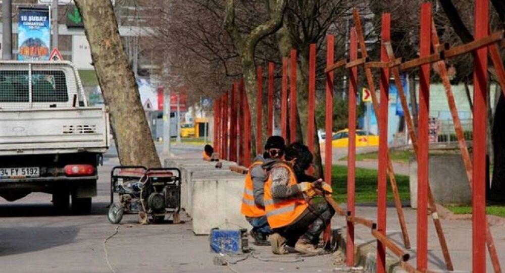 Maçka Parkı'nın bir bölümü daha bariyerlerle kapatılıyor
