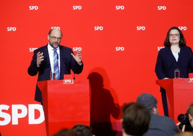 Martin Schulz Andrea Nahles