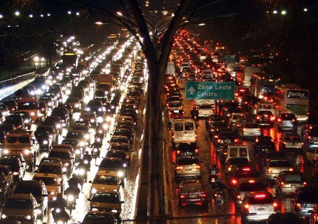 Sao Paulo trafik