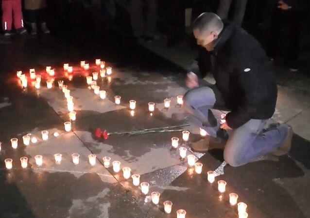 İdlib'de ölen Rus pilot, Rusya'da çeşitli etkinliklerle anıldı