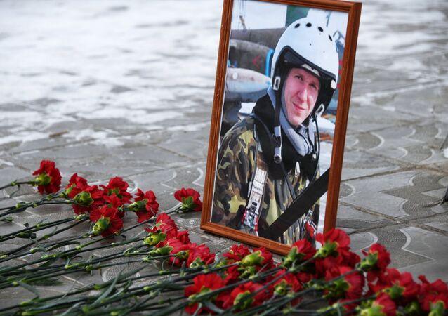 Su-25 uçağının pilotu Roman Filipov