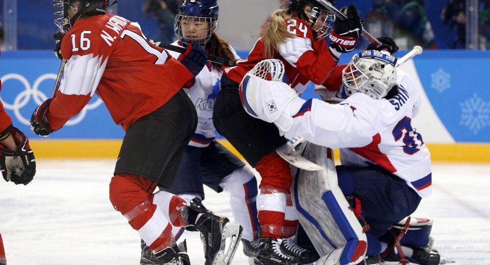 Kore birleşik kadın buz hokeyi takımı