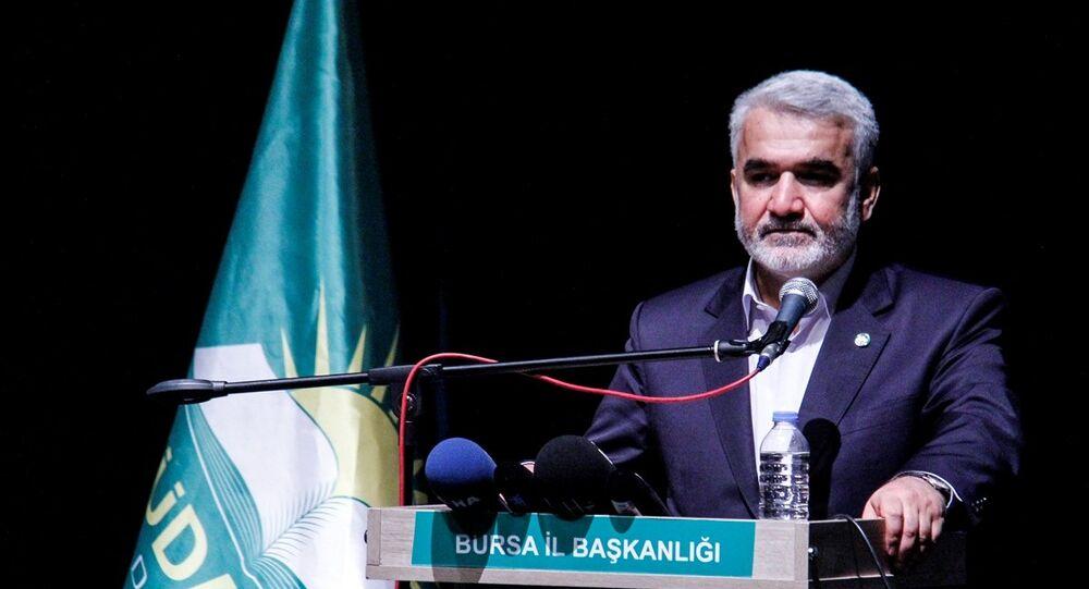 HÜDA PAR Genel Başkanı Zekeriya Yapıcıoğlu