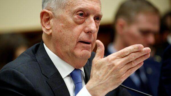 ABD Savunma Bakanı Jim Mattis Temsilciler Meclisi Silahlı Hizmetler Komitesi - Sputnik Türkiye