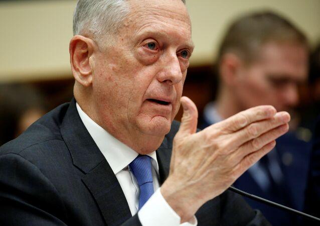 ABD Savunma Bakanı Jim Mattis Temsilciler Meclisi Silahlı Hizmetler Komitesi