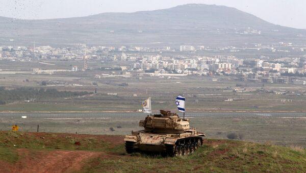 İsrail-Suriye sınırı - Sputnik Türkiye