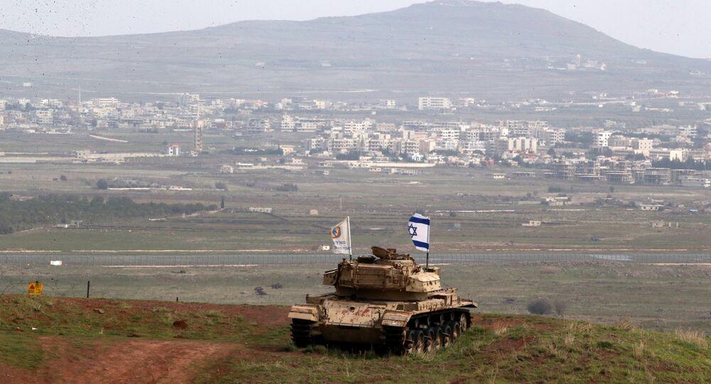 İsrail-Suriye sınırı