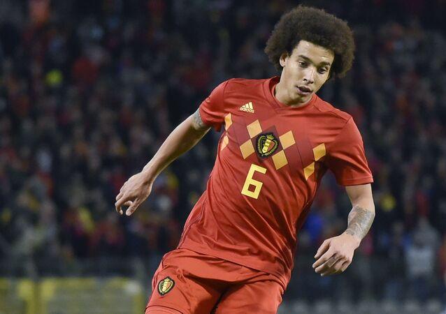 Belçika Milli Takımı'nın oyuncusu Axel Witsel