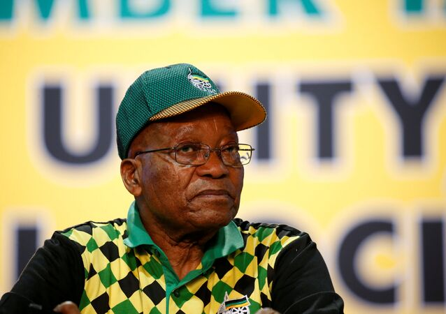 Güney Afrika lideri Jacob Zuma