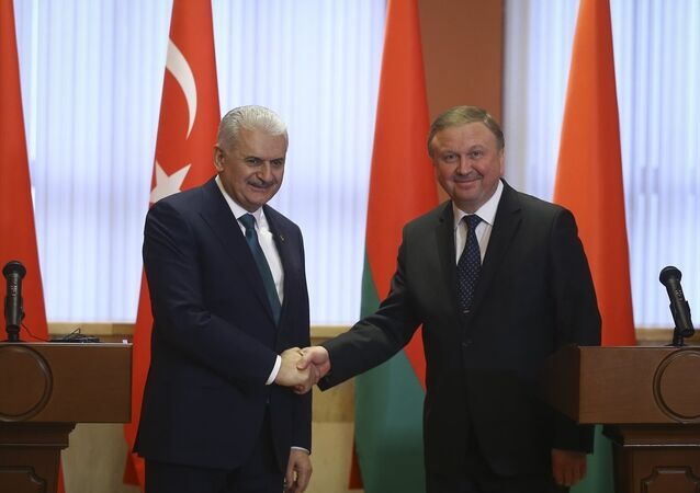 Başbakan Binali Yıldırım ve Belarus Başbakanı Andrey Kobyakov