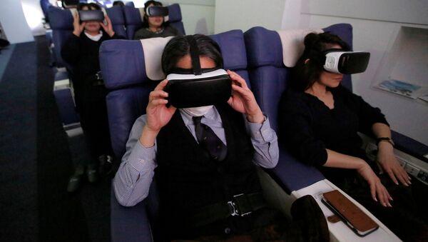 Japonya'da 'sanal gerçeklik tatili' - Sputnik Türkiye