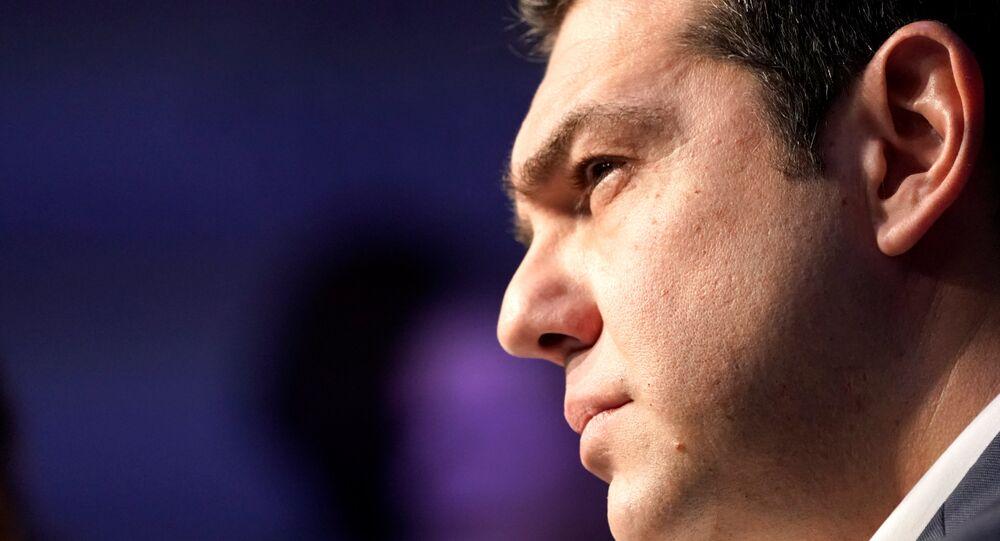 Yunanistan Başbakanı Aleksis Çipras